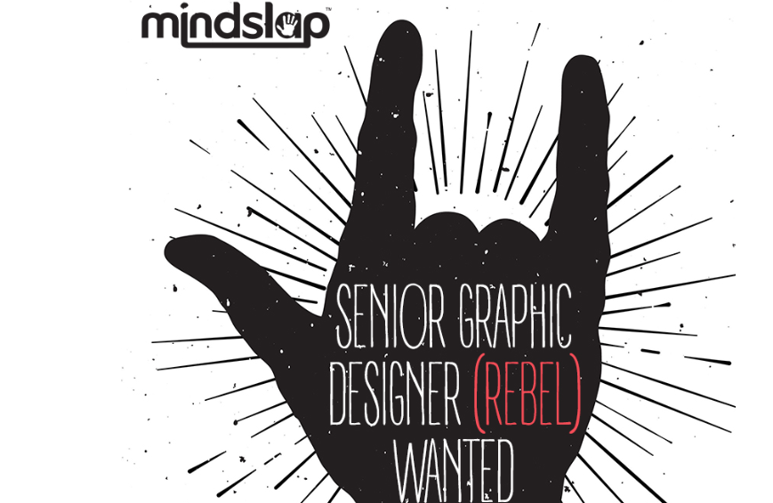 Senior Graphic Designer (REBEL) Wanted!